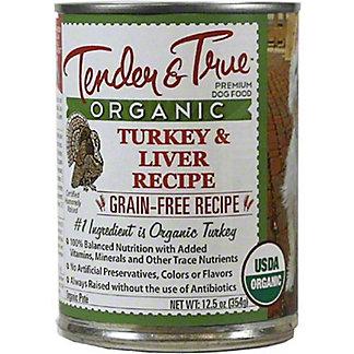 Tender & True Organic Turkey & Liver Dog Food, 12.5 oz