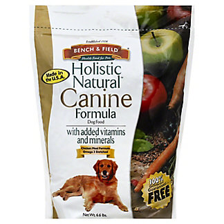 Bench & Field Holistic Natural Canine Formula, 6.6 lb