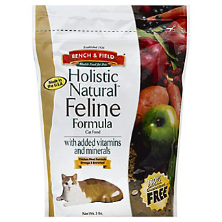 Bench & Field Holistic Natural Holistic Natural Feline Frmula, 3 lb
