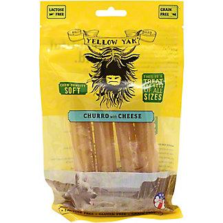 Yellow Yak Churro Cheese Dog Treat, 4 oz