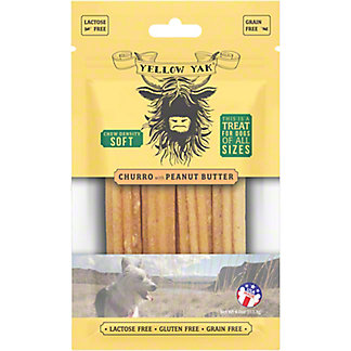 Yellow Yak Peanut Butter Dog Chew, 4 oz