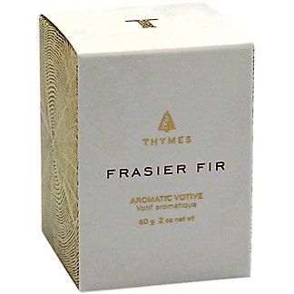 Thymes Frasier Fir Gold Votive, 2 oz