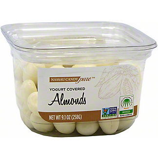 Nassau Candy Yogurt Covered Almonds, 9.1 oz