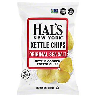 Hal's New York Kettle Chips Original Sea Salt, 5 oz