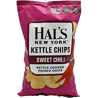 Hal's New York Sweet Chili Kettle Chips, 5 oz