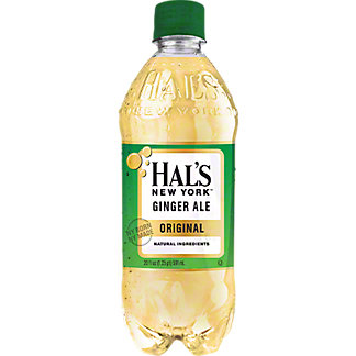 Hal's New York Ginger Ale Original  , 20 oz