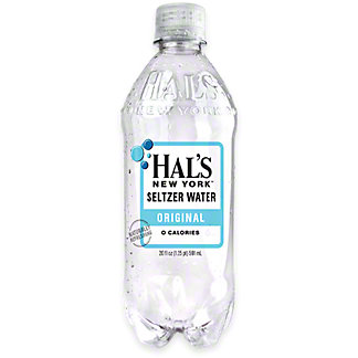 Hal's New York Original Seltzer Water, 20 oz