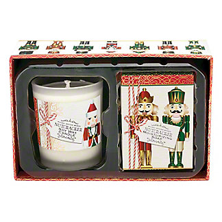 Michel Design Works Nutcracker Candle And Soap Gift Set, 4.6 oz