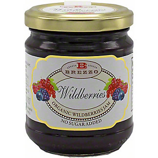 Brezzo Organic Wildberries Jam, 7.4 oz