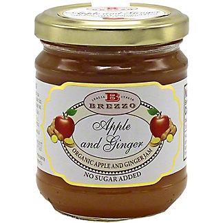 Brezzo Organic Apple & Ginger Jam, 7.4 oz