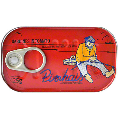 Pinhais Canned Sardines In Tomato Sauce , 4.41 oz