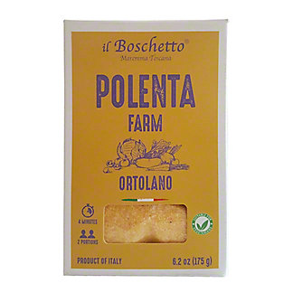IL Boschetto Italian Polenta With Vegetable, 6.2 oz