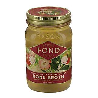 Fond Chicken with Fennel, Apple Cider Vinegar, and Bay Leaf Bone Broth, 14 oz