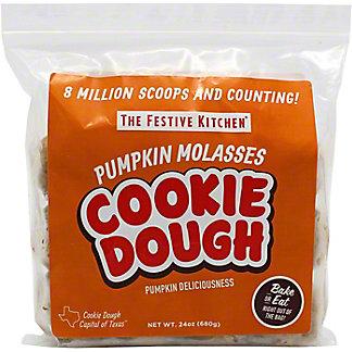 The Festive Kitchen Pumpkin Molasses Cookie Dough, 24 oz