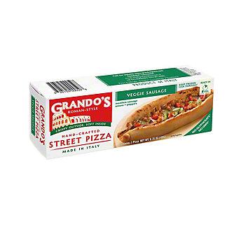 Grando's Roman-Style Street Pizza Sausage Veggie, ea