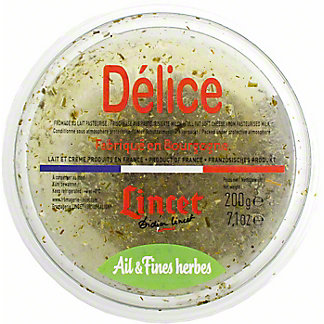 Lincet Delice Garlic And Herb, 200 g