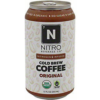 Nitro Beverage Co. Original Nitro Cold Brew Coffee , 12 fl oz