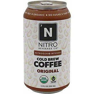 Nitro Beverage Co. Original Nitro Cold Brew Coffee, 12 fl oz