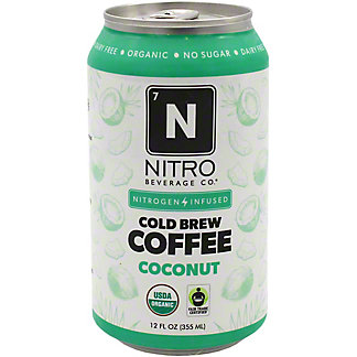 Nitro Beverage Co. Coconut Nitro Cold Brew Coffee , 12 fl oz