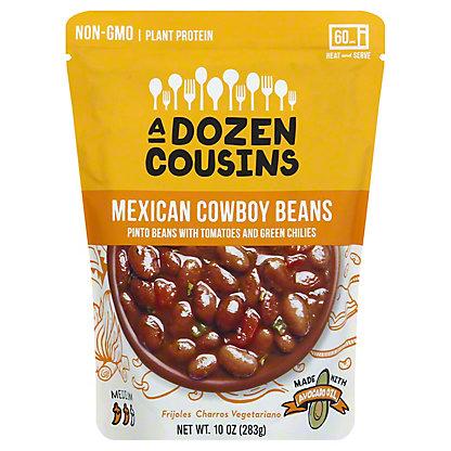A Dozen Cousins Mexican Cowboy Pinto Beans, 10 oz