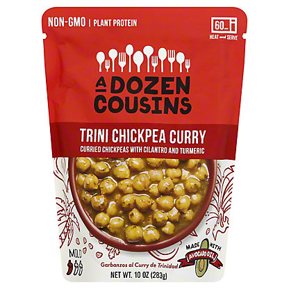 A Dozen Cousins Trini Chickpea Curry, 10 oz
