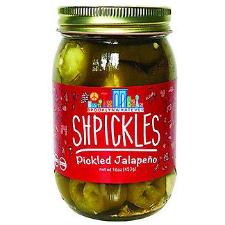 Brooklyn Whatevever Shpickles Pickled Jalapenos, 16 oz