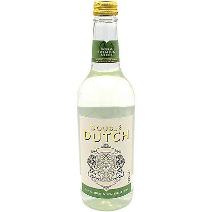 Double Dutch Cucumber & Watermelon Tonic Water, Glass, 16.9 fl oz