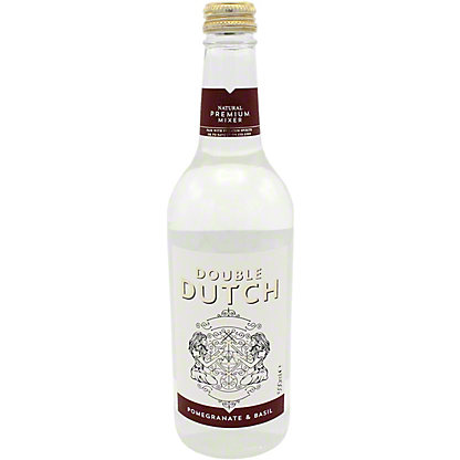 Double Dutch Pomegranate & Basil Tonic Water, Glass, 16.9 fl oz