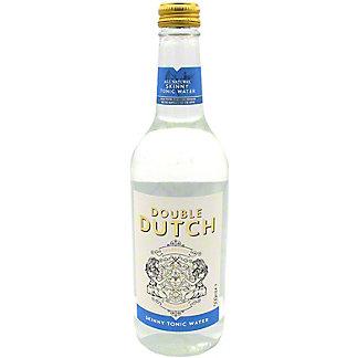 Double Dutch Skinny Tonic Water, glass, 16.9 fl oz