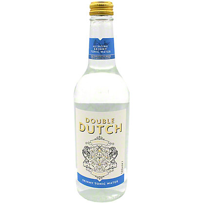 Double Dutch Skinny Tonic Water, glass, 16.9 fl oz