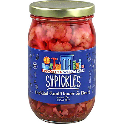 Brooklyn Whatever Shpickles Pickled Cauliflower & Beets, 16 oz