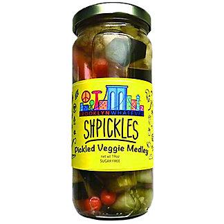 Brooklyn Whatevever Shpickles Pickled Veggie Medley, 19 oz