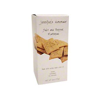 Jennifer's Homemade Salt & Pepper Flatbread, 5 oz