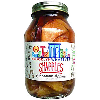 Brooklyn Whatever Shapples Cinnamon Apples, 32 oz