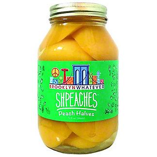 Brooklyn Whatever Shpeaches Peach Halves, 32 oz