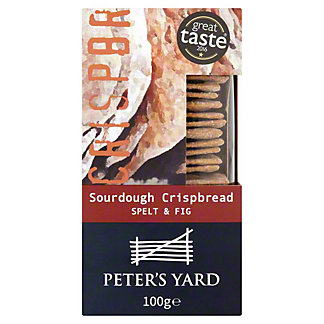 Peter's Yard  Spelt & Fig Sourdough Crispbread, 3.5 oz