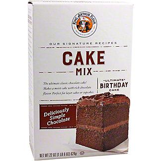 King Arthur Flour Deliciously Simple Chocolate Cake Mix, 22 oz