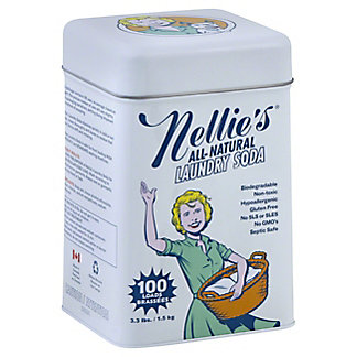 Nellie's All-Natural 100 Load Laundry Soda, 3.3 lbs