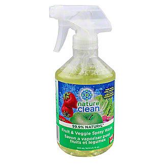 Nature Clean Fruit & Veggie Spray Wash, 16.9 oz
