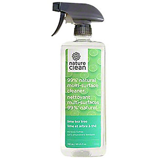 Nature Clean  Lime Tea Tree Multi Surface Cleaner, 25 oz