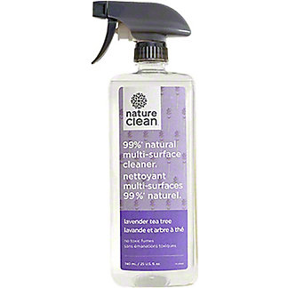 Nature Clean Lavender Tea Tree Multi Surface Cleaner, 25 oz