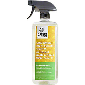 Nature Clean Multi Surface Cleaner Lemon Verbena , 25 oz