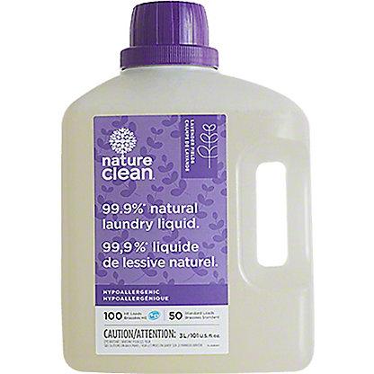 Nature Clean Lavender Fields Natural Laundry Liquid, 100 oz