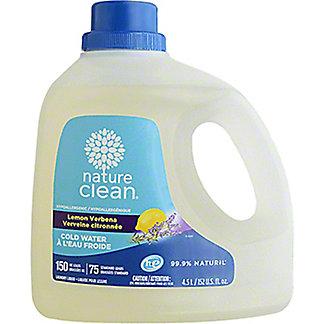 Nature Clean Lemon Verbena Laundry Detergent, 152 oz