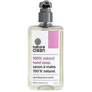 Nature Clean Natural Liquid Hand Soap Sweet Pea, 16.8 fl oz