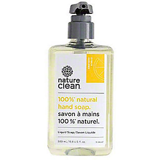 Nature Clean  Citrus Natural Liquid Hand Soap, 16.8 oz