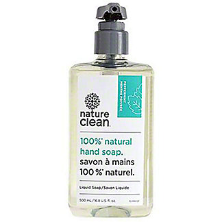 Nature Clean Peppermint Natural Liquid Hand Soap , 16.8 oz