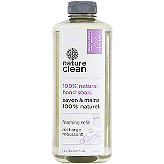 Nature Clean Natural Hand Soap Foaming Refill Lavender Moon , 33 oz