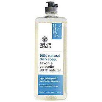 Nature Clean Fragrance Free Natural Dish Soap, 25 oz