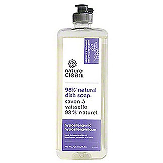Nature Clean  Lavender Tea Tree Natural Dish Soap, 25 oz